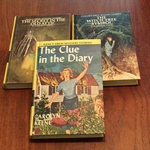 Nancy Drew Mystery Hardcover 3 Pack